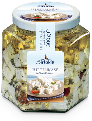 Herder's cheese cubes 300 g
